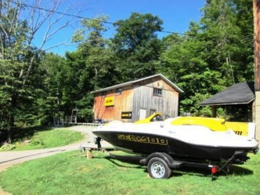 Boat Storage in Rosseau