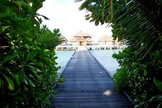 A Spa in the Maldives