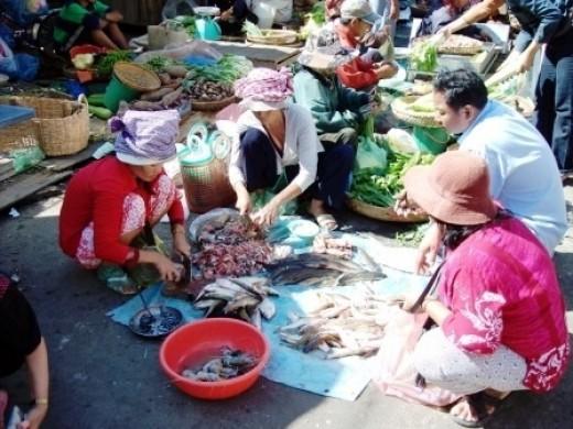 Fish in Phnom Penh Market