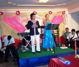 Master of ceremonies at the Khmer Wedding