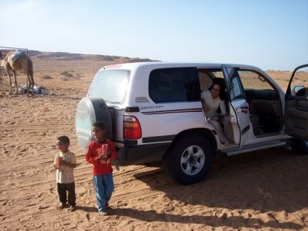 Visiting a Family in the Desert
