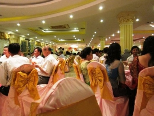 Khmer Wedding reception