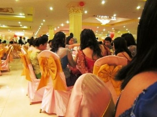 Big Khmer wedding reception