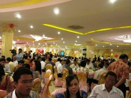Another big Khmer wedding reception
