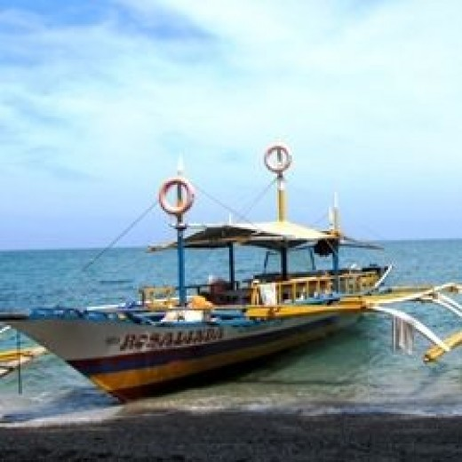 Island Hopping Boat in Concepcion