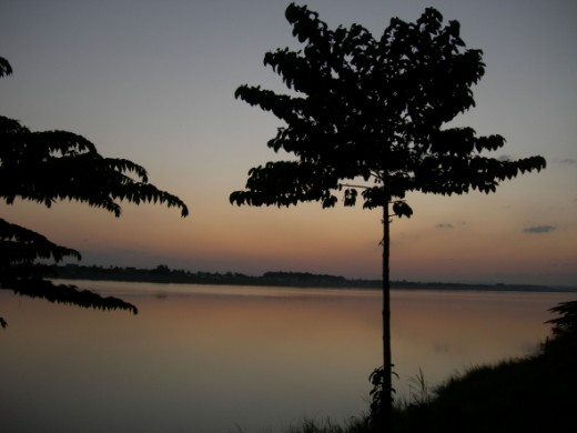More of the Mekong in Vientiane