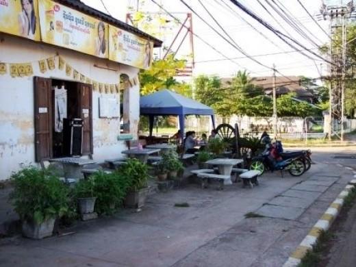 Restaurant in Laos