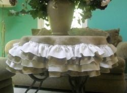 Burlap Tablecloth