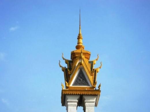 Friendship Monument Phnom Penh