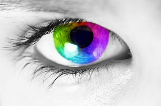No, this is not a real eye color. :)