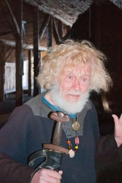 A modern day Viking.