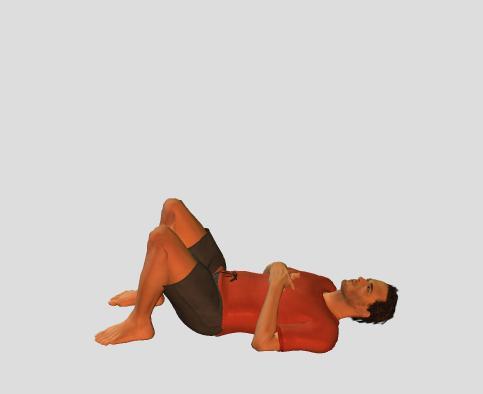Crunch-starting position