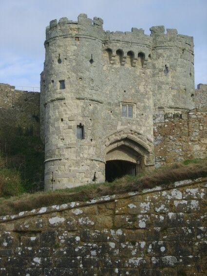 Carisbrooke Castle on the Isle of Wight