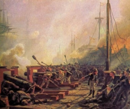 Willemoes during the battle