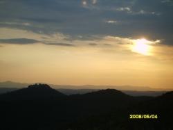 Italy - sunset at Trasimeno