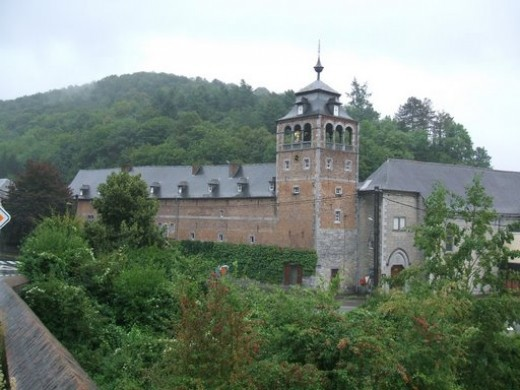"""The abbey """"Notre Dame de Leffe"""""""
