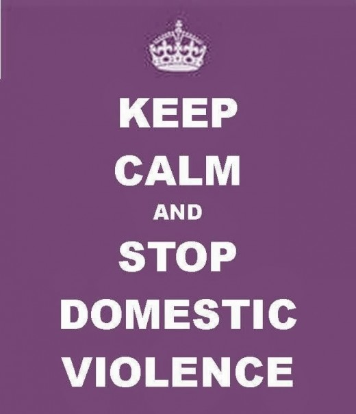 End the silence about domestic violence