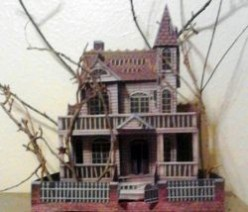 My Paper Halloween House Project