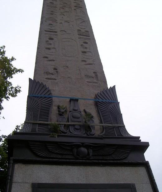 Cleopatra's needle, photo by ashroc