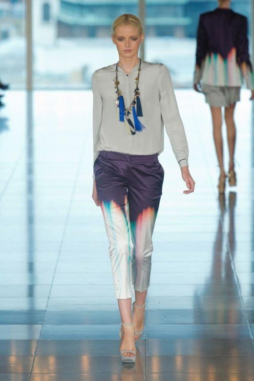 Matthew Williamson Spring/Summer 2013 Image via Style.com