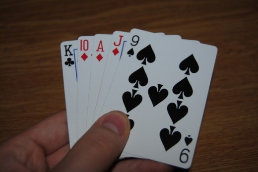 This one's easy - call diamonds. Your two off cards are weak, but you should remember to depend on your partner for one.