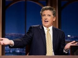Craig Ferguson and his dashing good looks.