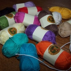 Crafting with Lion Brand Yarns' Bonbons