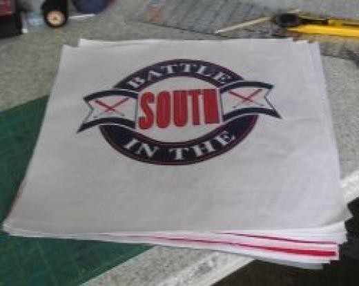 t-shirt quilt squares