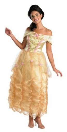 Disney beauty and the beast costume for women