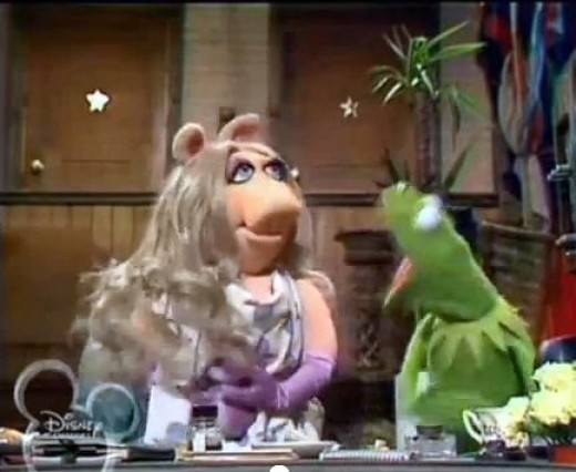 ANGRY KERMIT: Typically moves so fast as to be a blur. Arm flailing optional.