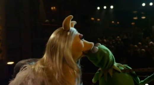 ROMANTIC KERMIT: Kermit loves the ladies... Just not Piggy. Jealousy and separation have a tendency to change his mind.