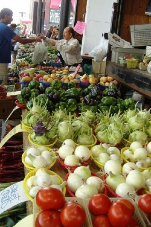 A Bounty of Beautiful Produce