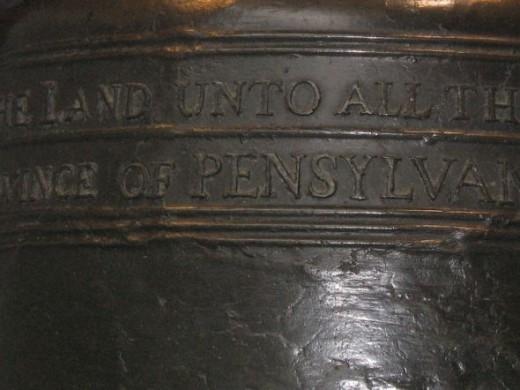Liberty Bell Inscription