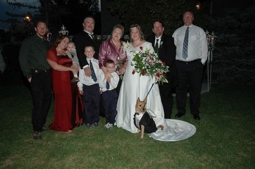 Looking Sharp With The Bride's Family