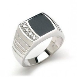 "20&linkCode=as2&camp=1789&creative=9325&creativeASIN=B0000DYKN3"">Black Coral Ring with Diamonds in 14K White Gold"