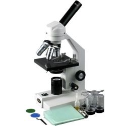 AmScope Student Widefield Biological Compound Microscope
