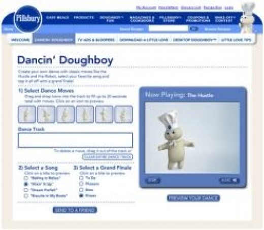 Dancing Pillsbury Doughboy