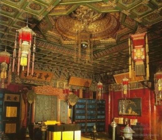 The King´s studio in Shou-Du Palace