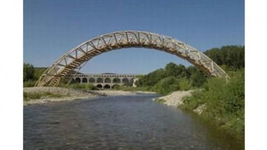 Paper Tubes Bridge