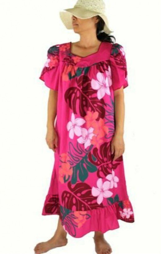 muumuu dresses are lovely comfort clothing for boomers and