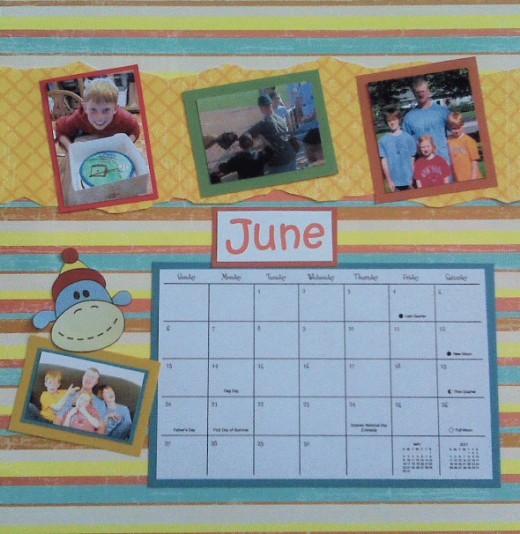 JUNE is a birthday month and Father's Day.