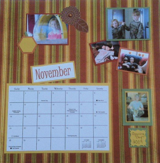 NOVEMBER is a birthday month so I gave the birthday girl some front and center time.