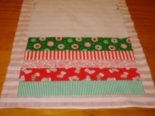 christmas patchwork table runner 11