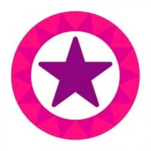 purple star
