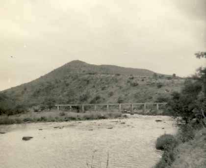 The bridge's full span