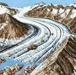 Cenozoic Era Icial Glaciers