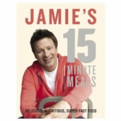 Jamie's 15 minute meals - The perfect quick meal cookbook.