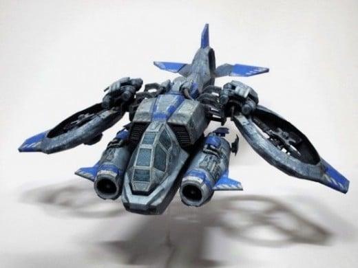 Starcraft 2 Banshee
