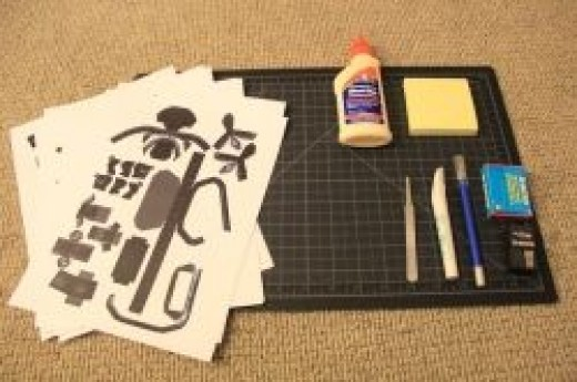 The tools of papercraft