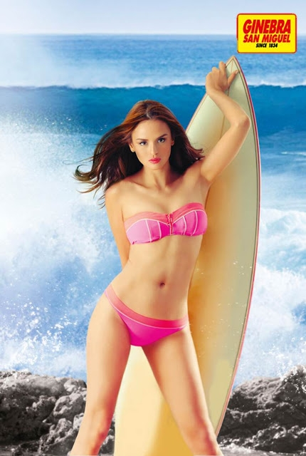 Georgina on Surf